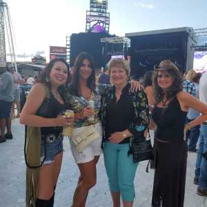 Jessica attended Zac Brown Band: the Owl Tour - Country on Aug 9th 2019 via VetTix