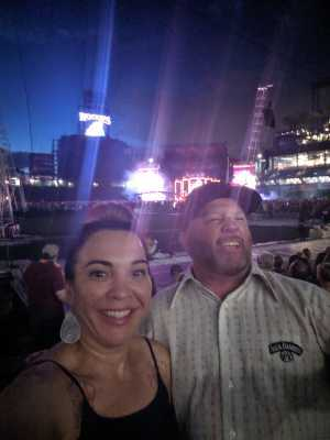 Michelle attended Zac Brown Band: the Owl Tour - Country on Aug 9th 2019 via VetTix