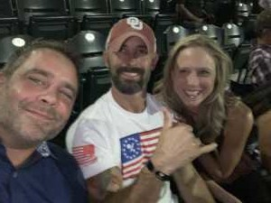 Byron attended Zac Brown Band: the Owl Tour - Country on Aug 9th 2019 via VetTix