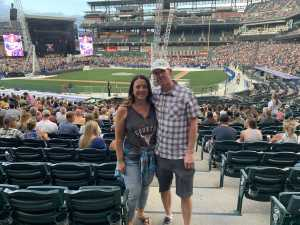 Rochelle attended Zac Brown Band: the Owl Tour - Country on Aug 9th 2019 via VetTix