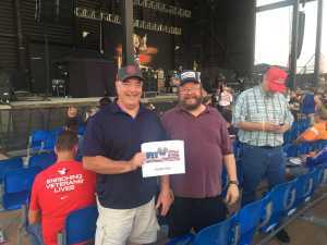 Marty attended Ted Nugent: the Music Made Me Do It Again - Pop on Aug 17th 2019 via VetTix