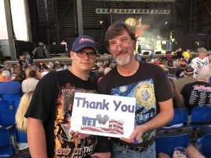 Charles attended Ted Nugent: the Music Made Me Do It Again - Pop on Aug 17th 2019 via VetTix
