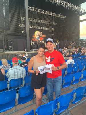 Gerald attended Ted Nugent: the Music Made Me Do It Again - Pop on Aug 17th 2019 via VetTix