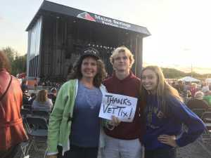 Katherine attended Alice Cooper & Halestorm - Pop on Aug 10th 2019 via VetTix