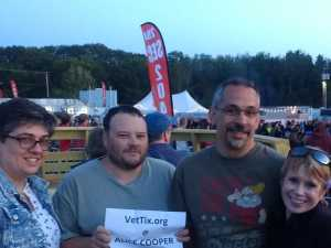 Michael attended Alice Cooper & Halestorm - Pop on Aug 10th 2019 via VetTix