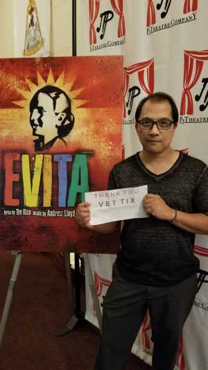 Rnold attended Evita - Evening Performance on Sep 14th 2019 via VetTix