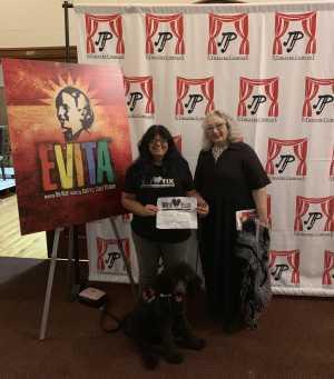 Lisa attended Evita - Evening Performance on Sep 14th 2019 via VetTix