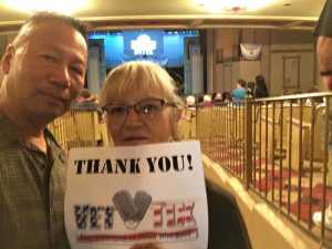 RL attended Evita on Sep 15th 2019 via VetTix