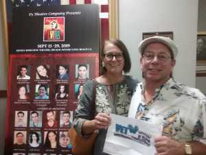 Mark attended Evita on Sep 15th 2019 via VetTix