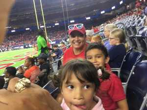 Raul attended Advocare Texas Kickoff - University of Houston Cougars vs. Washington State University Cougars - NCAA Football on Sep 13th 2019 via VetTix