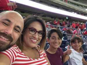 Haim attended Advocare Texas Kickoff - University of Houston Cougars vs. Washington State University Cougars - NCAA Football on Sep 13th 2019 via VetTix
