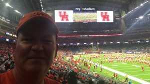 William attended Advocare Texas Kickoff - University of Houston Cougars vs. Washington State University Cougars - NCAA Football on Sep 13th 2019 via VetTix