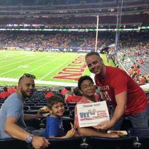 Click To Read More Feedback from Advocare Texas Kickoff - University of Houston Cougars vs. Washington State University Cougars - NCAA Football