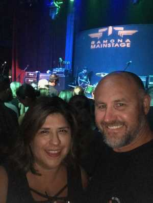 Jeffrey attended Candlebox on Aug 29th 2019 via VetTix