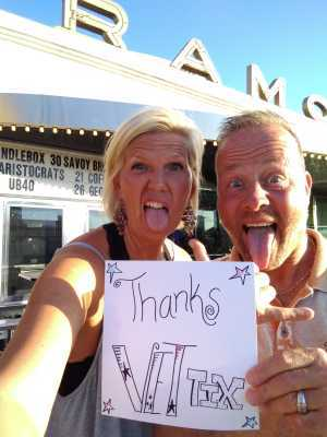 Larry attended Candlebox on Aug 29th 2019 via VetTix