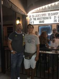 Paul attended Candlebox on Aug 29th 2019 via VetTix