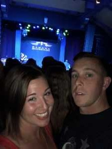 Frederick attended Candlebox on Aug 29th 2019 via VetTix