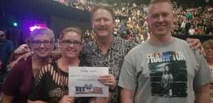 Rick attended Steve Miller Band & Marty Stuart and His Fabulous Superlatives on Aug 13th 2019 via VetTix