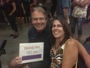 Richard attended Steve Miller Band & Marty Stuart and His Fabulous Superlatives on Aug 13th 2019 via VetTix