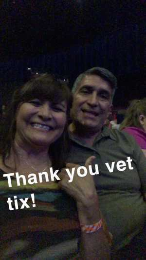 cooney attended Steve Miller Band & Marty Stuart and His Fabulous Superlatives on Aug 13th 2019 via VetTix
