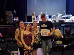 Barton attended Steve Miller Band & Marty Stuart and His Fabulous Superlatives on Aug 13th 2019 via VetTix