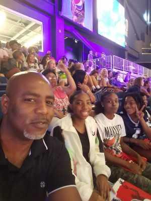 Tammy attended Washington Mystics vs. Seattle Storm - WNBA on Aug 14th 2019 via VetTix