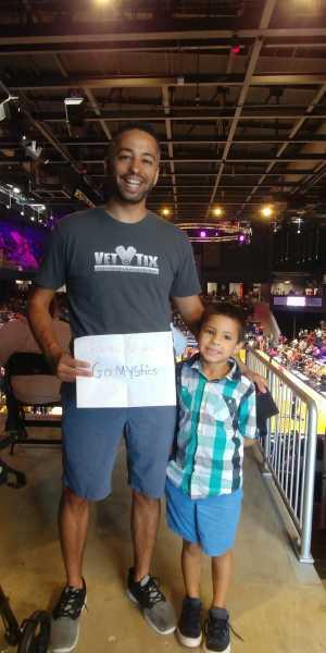 Christopher attended Washington Mystics vs. Seattle Storm - WNBA on Aug 14th 2019 via VetTix