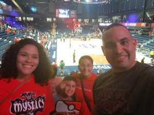 Gilberto attended Washington Mystics vs. Seattle Storm - WNBA on Aug 14th 2019 via VetTix