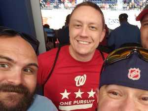 Richard attended Washington Mystics vs. Seattle Storm - WNBA on Aug 14th 2019 via VetTix