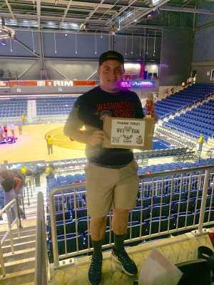 Gehrig attended Washington Mystics vs. Seattle Storm - WNBA on Aug 14th 2019 via VetTix