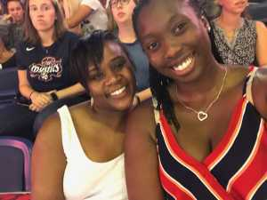 Jelisa attended Washington Mystics vs. Seattle Storm - WNBA on Aug 14th 2019 via VetTix