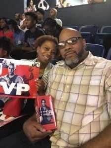 Henry attended Washington Mystics vs. Seattle Storm - WNBA on Aug 14th 2019 via VetTix