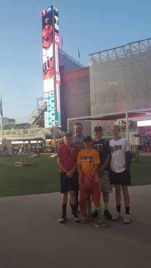 Alexander attended Minnesota Twins vs. Washington Nationals - MLB on Sep 10th 2019 via VetTix