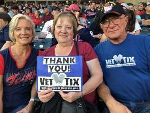 Laurence attended Minnesota Twins vs. Washington Nationals - MLB on Sep 10th 2019 via VetTix