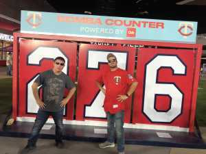 Zachary attended Minnesota Twins vs. Washington Nationals - MLB on Sep 10th 2019 via VetTix