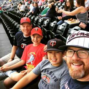 Michael attended Minnesota Twins vs. Washington Nationals - MLB on Sep 10th 2019 via VetTix