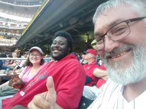 GREG attended Minnesota Twins vs. Washington Nationals - MLB on Sep 10th 2019 via VetTix