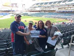 Kimberly attended Minnesota Twins vs. Washington Nationals - MLB on Sep 10th 2019 via VetTix