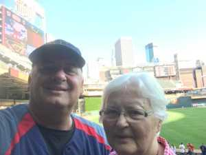 Lisa attended Minnesota Twins vs. Washington Nationals - MLB on Sep 10th 2019 via VetTix