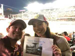 Jake attended Minnesota Twins vs. Washington Nationals - MLB on Sep 10th 2019 via VetTix