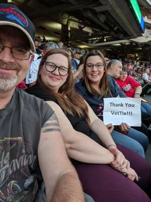 Curtis attended Minnesota Twins vs. Washington Nationals - MLB on Sep 10th 2019 via VetTix