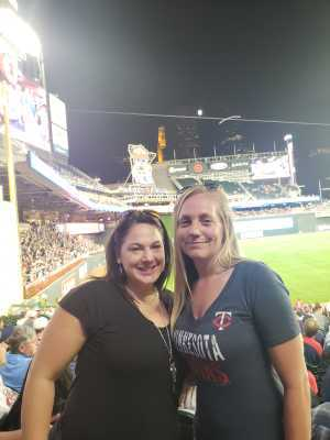 Sara attended Minnesota Twins vs. Washington Nationals - MLB on Sep 10th 2019 via VetTix
