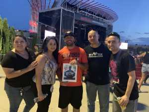 carlos attended Nelly, Tlc, and Flo Rida - French Rap on Aug 22nd 2019 via VetTix
