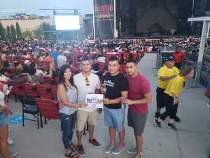 Javier attended Nelly, Tlc, and Flo Rida - French Rap on Aug 22nd 2019 via VetTix