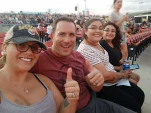 Ian attended Nelly, Tlc, and Flo Rida - French Rap on Aug 22nd 2019 via VetTix