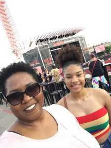 Tasha attended Nelly, Tlc, and Flo Rida - French Rap on Aug 22nd 2019 via VetTix