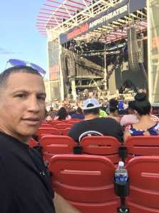 Franklin attended Nelly, Tlc, and Flo Rida - French Rap on Aug 22nd 2019 via VetTix