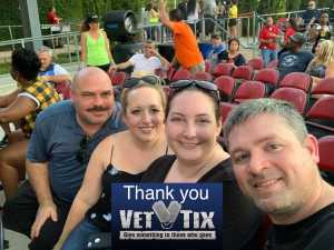 Thomas attended Nelly, Tlc, and Flo Rida - French Rap on Aug 22nd 2019 via VetTix