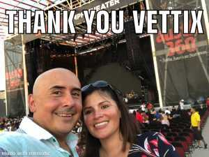 Omar attended Nelly, Tlc, and Flo Rida - French Rap on Aug 22nd 2019 via VetTix