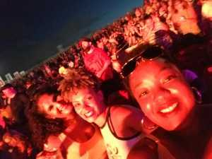 Sylvia attended Nelly, Tlc, and Flo Rida - French Rap on Aug 22nd 2019 via VetTix